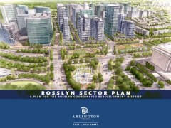 Arlington County Board to Take Action on Rosslyn Sector Plan Update