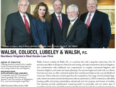 "Washingtontonian profiles The Land Lawyers in ""Top Lawyers"" Special Section"