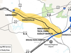 VRE Initiates a $4 Million Planning Study to Extend Railway Service in Prince William County