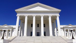 Photograph of Virginia State House
