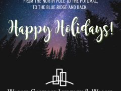 Happy Holidays from Walsh Colucci Lubeley & Walsh