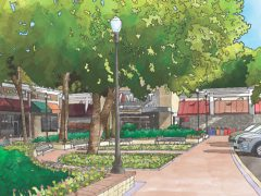 Madison Homes Proposes to Develop Townhomes as a Component of the Heritage Mall Redevelopment