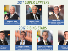Seven Land Lawyers Named to 2017 Super Lawyers Lists