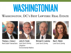 Four Land Lawyers are included in Washingtonian's Best Lawyers list