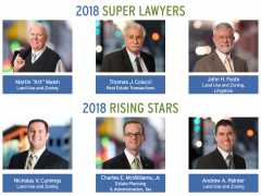 Six Land Lawyers Named to 2018 Super Lawyers Lists