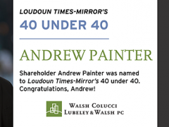 Andrew Painter Named to Loudoun Times-Mirror's 40 Under 40